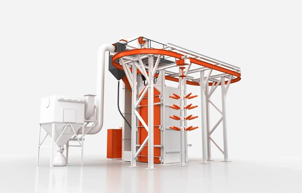 工业机械产品流程演示三维动画制作